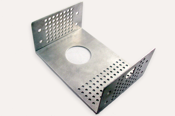 ... Sheet Metal Part; Cover With Custom Perforation ...